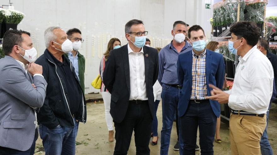 El PSOE reclama el pago del total de las ayudas a los floricultores de Cehegín