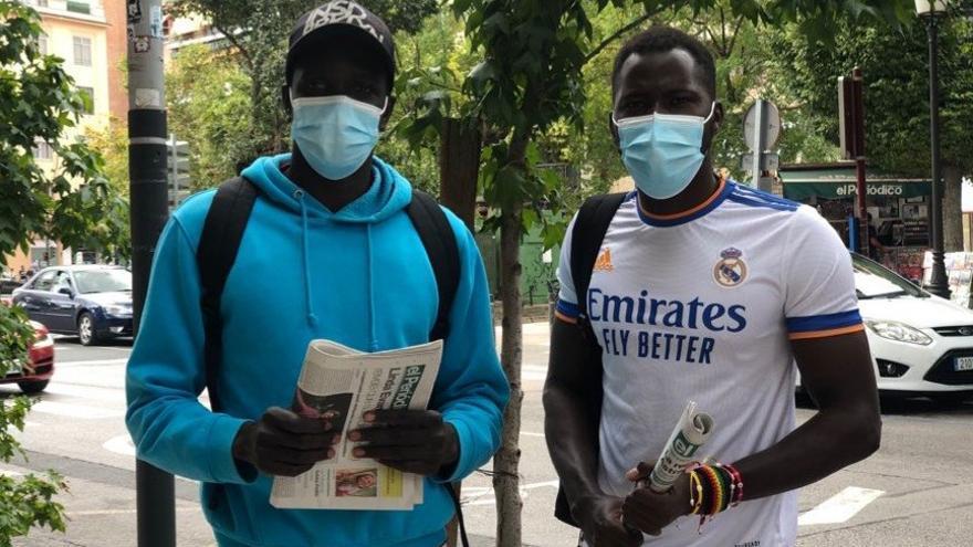 La dura travesía de Senegal a la feria de Cáceres