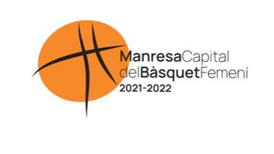Biel Martínez és l'autor del logotip de 'Manresa Capital del Bàsquet Femení 2021-2022'