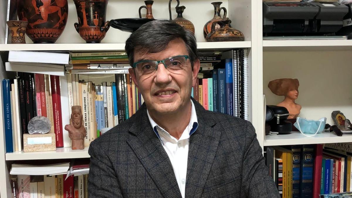 Andrés Martínez Rodríguez, nuevo académico de Alfonso X el Sabio