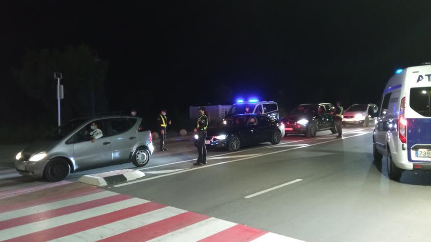 304 vehículos controlados durante el fin de semana, en Dénia