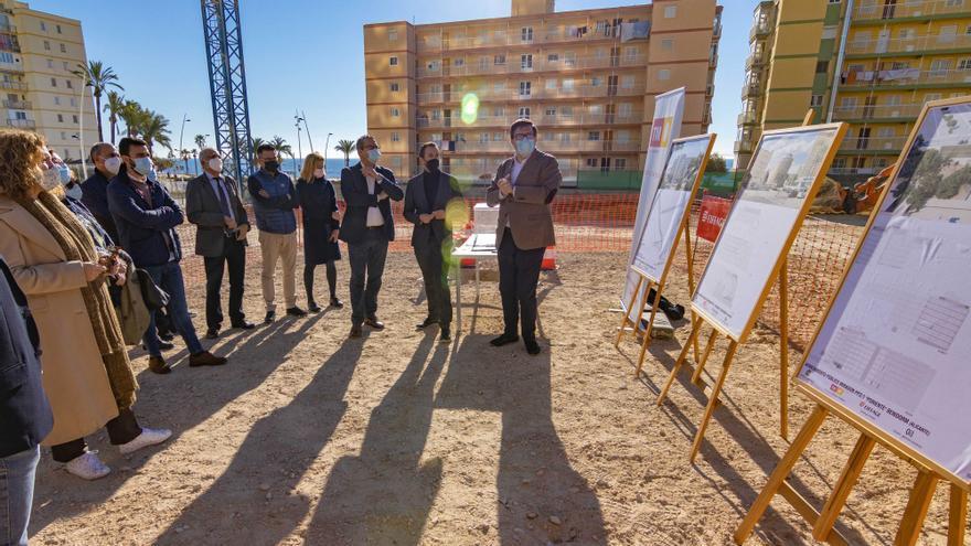 Arrancan en Benidorm las obras de un nuevo parking de siete alturas que dará servicio a la zona de Poniente