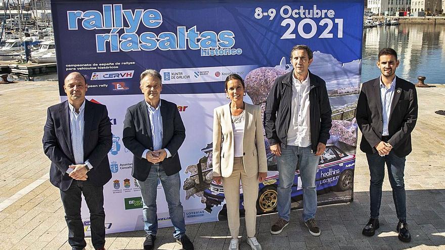 El Rallye Rías Altas reunirá a 70 vehículos históricos