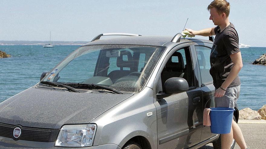 So bekommen Sie Ihr Auto auf Mallorca wieder sauber