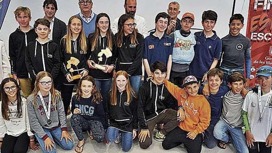 Marc Mesquida gana las Finales Escolares de  Optimist en Portocolom