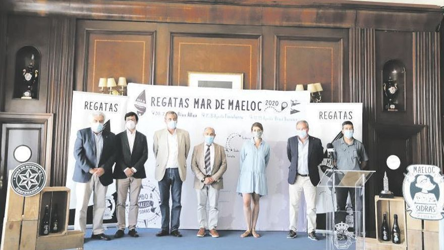 Mar de Maeloc vuelve a unir el litoral gallego