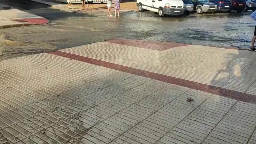 La tormenta deja hasta 16 litros en Cartagena y 14 en Torre Pacheco