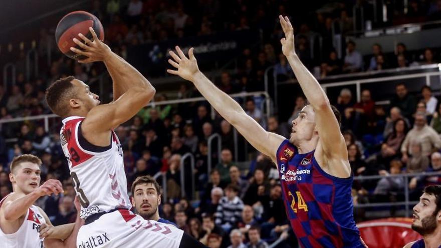 El Bilbao Basket sorprende al Barça Lassa a domicilio