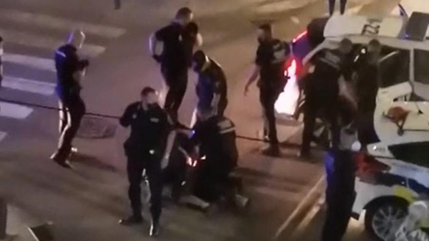 Tres detenidos por un enfrentamiento con la policía en Torrent