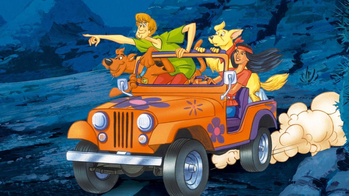 Un fotograma de la serie original de Scooby Doo