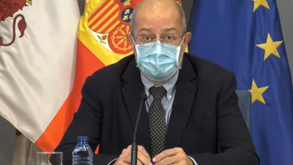 Rueda de prensa del vicepresidente de la Junta, Francisco Igea.