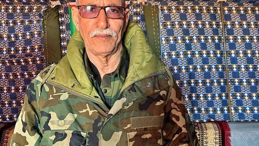 España acoge a Brahim Gali, líder del Polisario buscado por la Audiencia Nacional
