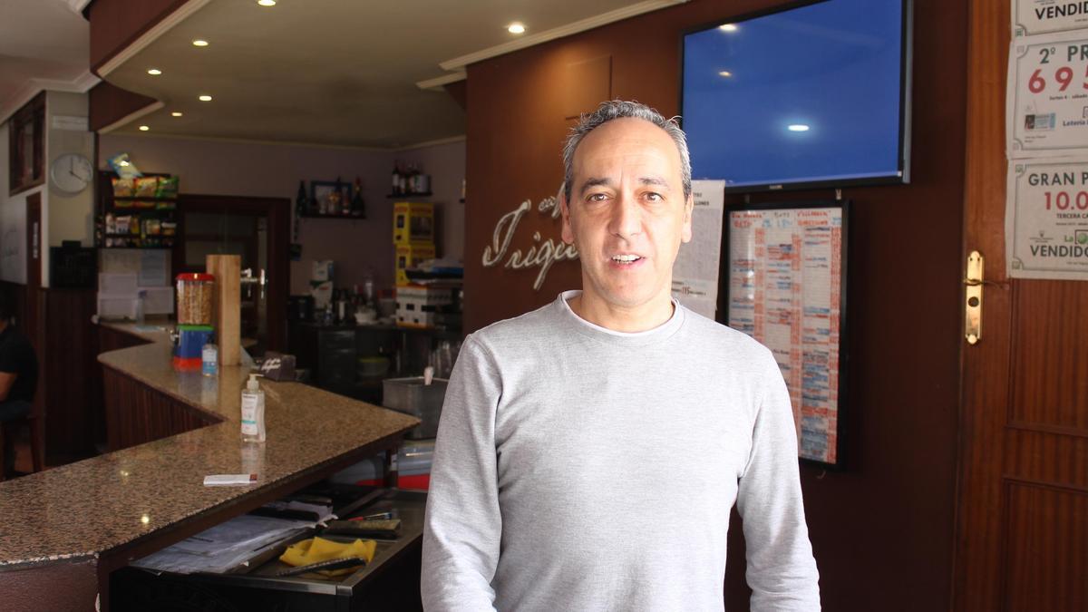 Rafael Triguero Ortega, copropietario de Casa Triguero.