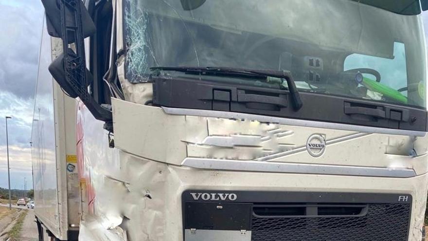 Així van aturar el conductor dels accidents de la Jonquera