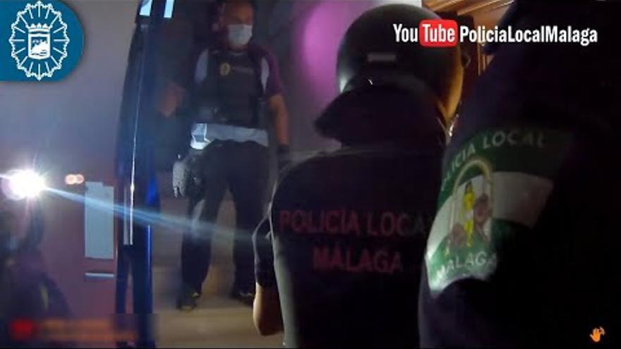 Detenido tras atrincherarse en su casa de Málaga y abrir el gas