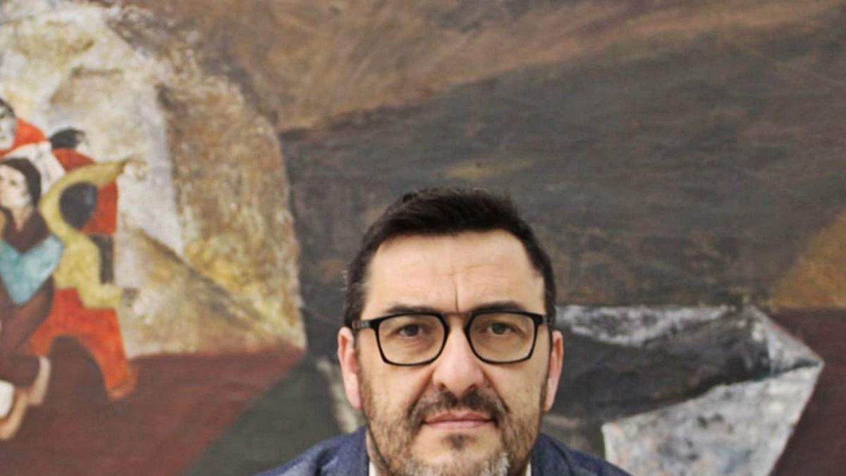 El portavoz adjunto de Adelante en el Parlamento de Andalucía, Guzmán Ahumada.