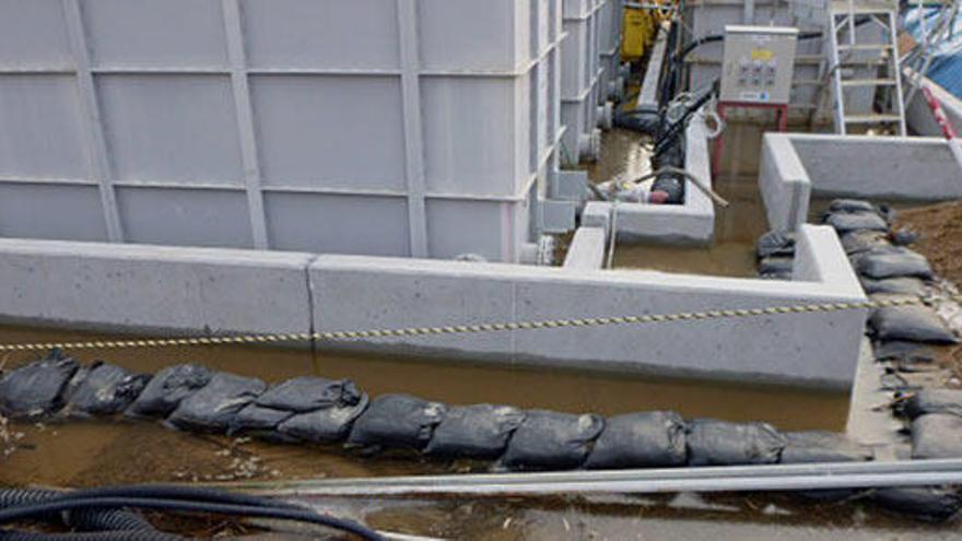 Detectan una fuga de agua radiactiva en Fukushima