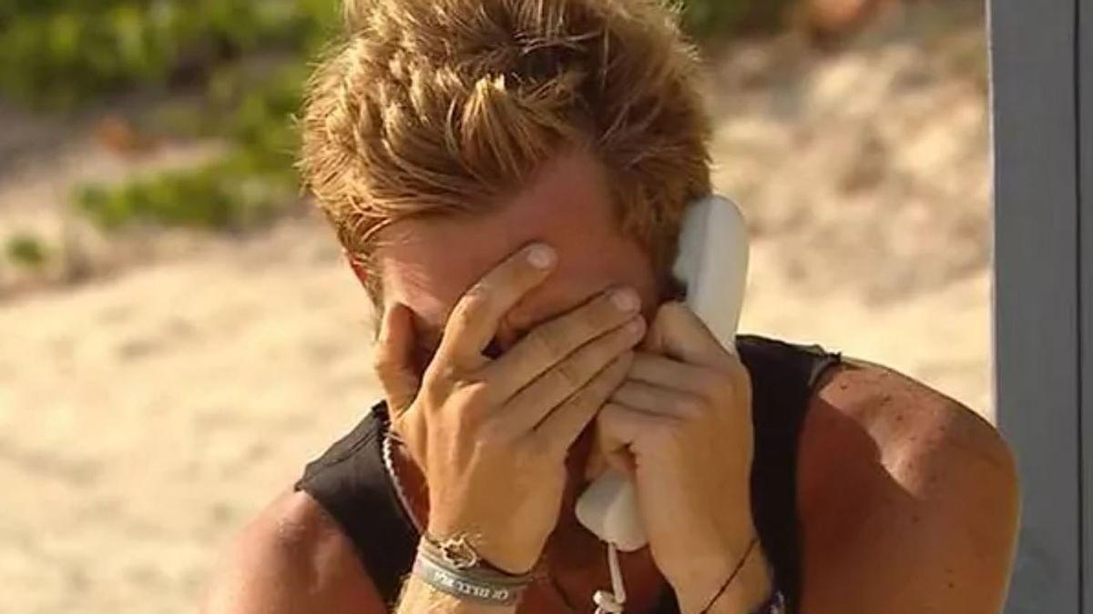 Tom Brusse llora desconsoladamente cuando Sandra Pica le aclara su situación