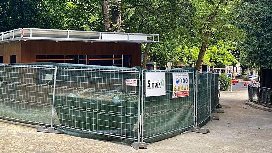 El nuevo aguaducho ya toma forma en el Campo