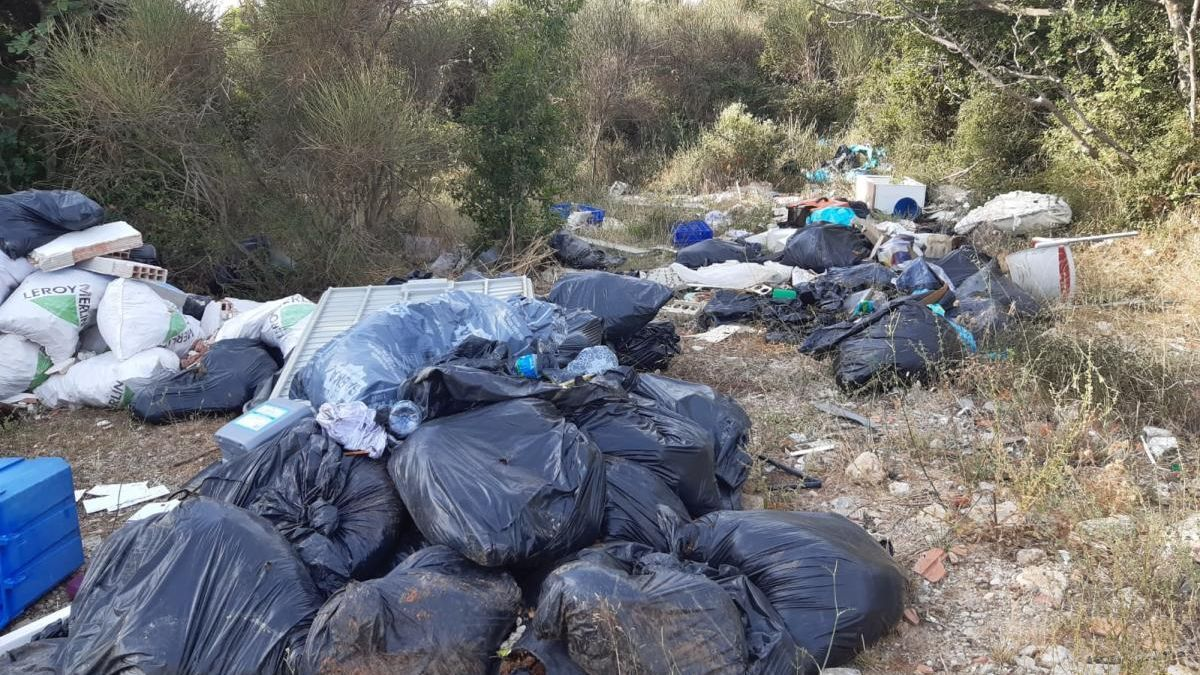 Residus trobats a la Garriga