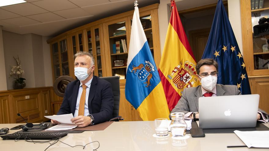Torres reclama ante la UE la renovación de la estrategia con las RUP y su adaptación al impacto de la crisis actual