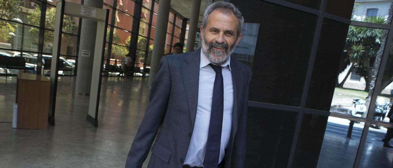 El fiscal anticorrupción Felipe Briones, en foto de archivo.