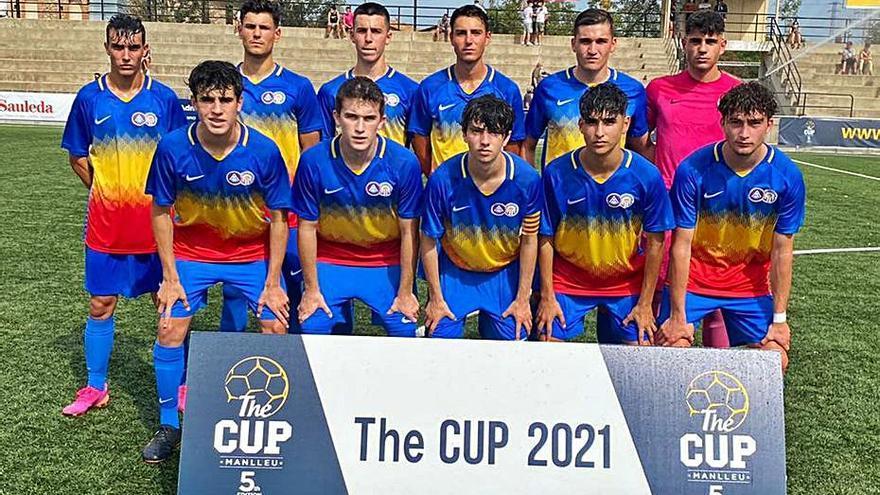 El juvenil del Gimnàstic debuta amb triomf a The Cup Manlleu