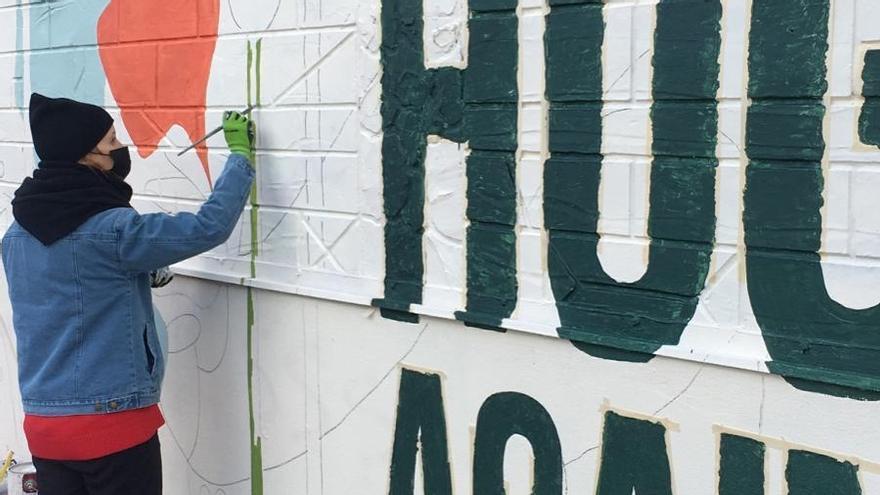 Muralismo gallego en Nueva York
