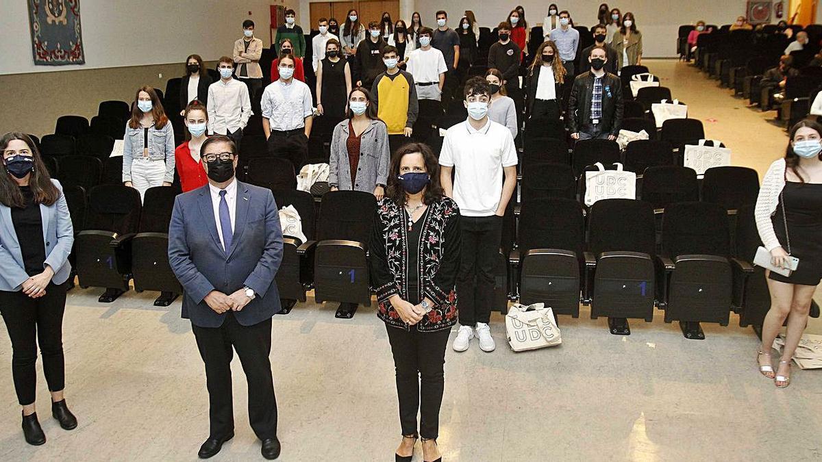 Entrega de diplomas del programa 'StemBach'   CARLOS PARDELLAS