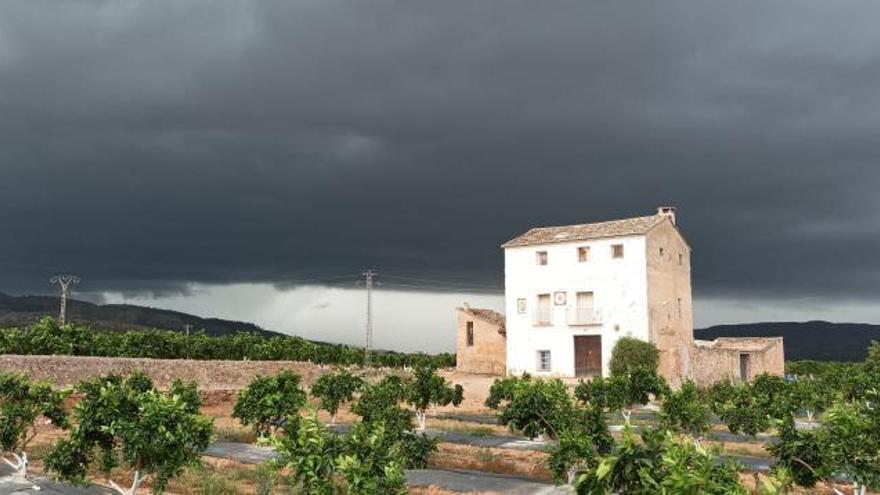 Un agosto húmedo deja superávits de lluvia de hasta el 152 % en la Ribera