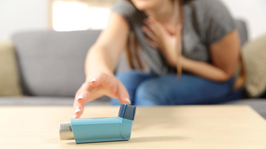 El asma podría proteger frente al coronavirus, según un estudio