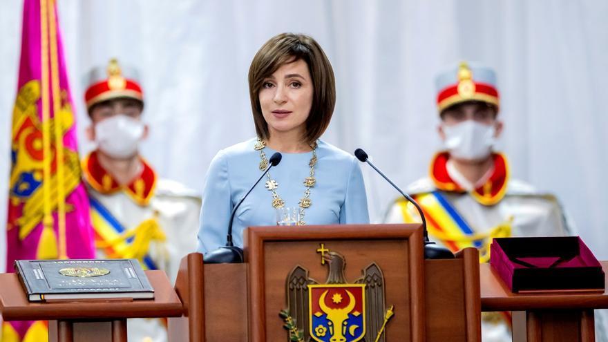 La presidenta de Moldavia disuelve el Parlamento y convoca elecciones legislativas