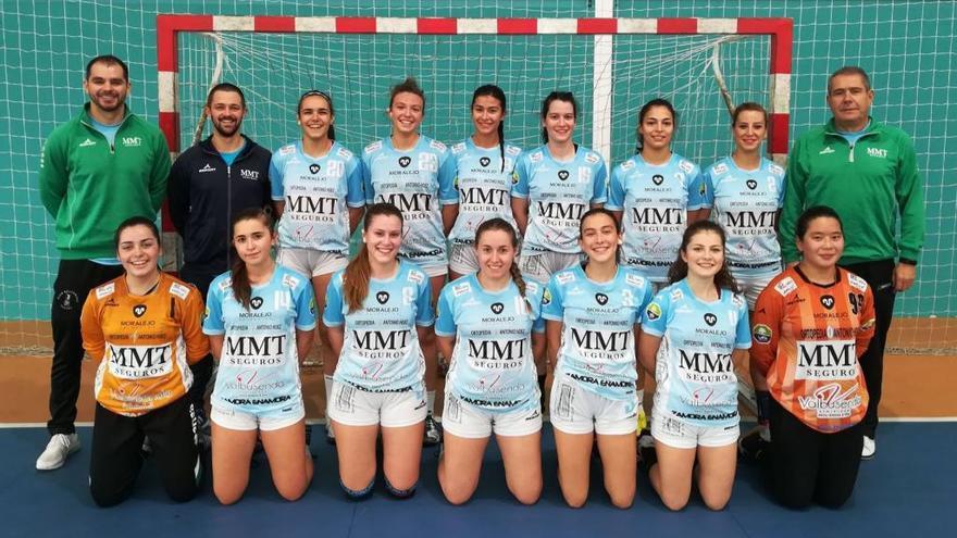 El BM Zamora femenino empieza la fase de ascenso a División de Honor Plata con victoria
