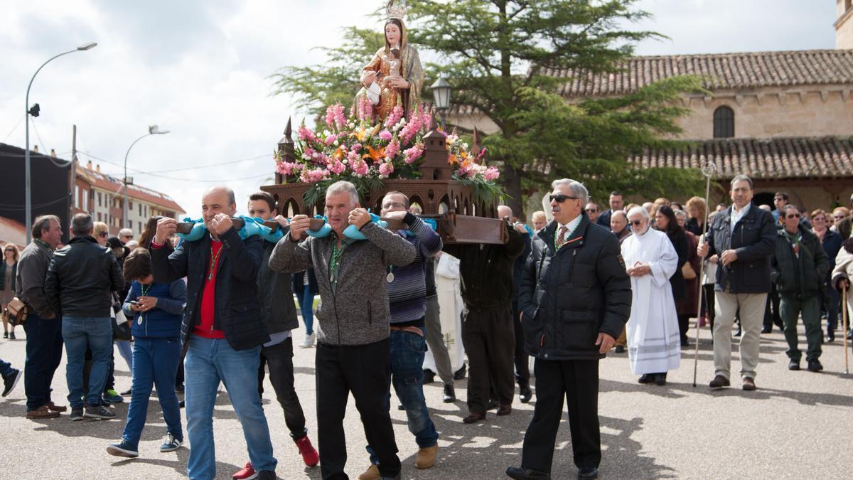 Procesión de la Virgen de la Guía, anulada este año