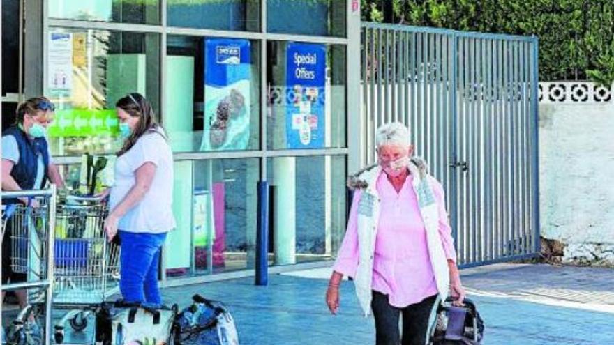 La despensa británica de la costa española
