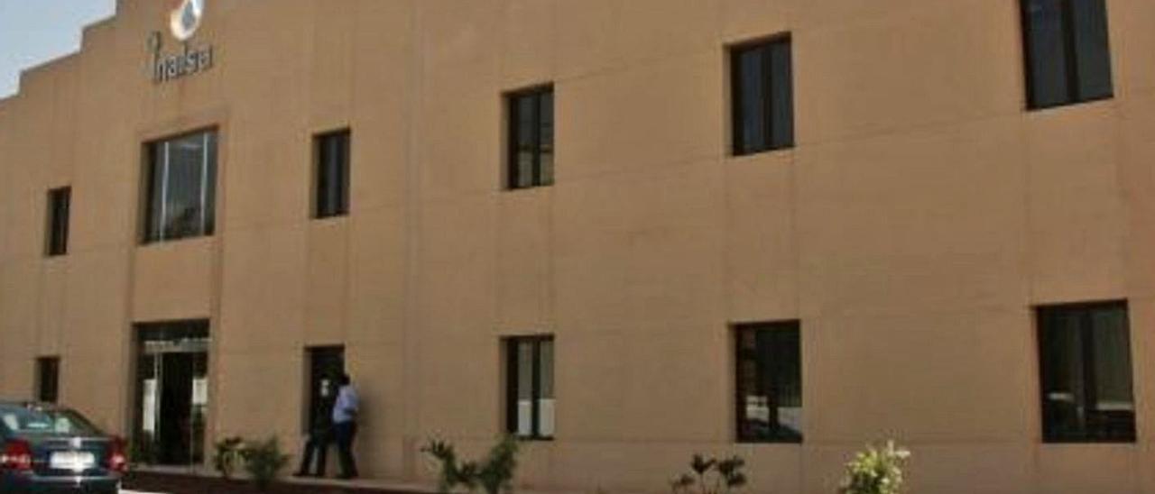 Exterior de la sede de Inalsa. | | LP/DLP