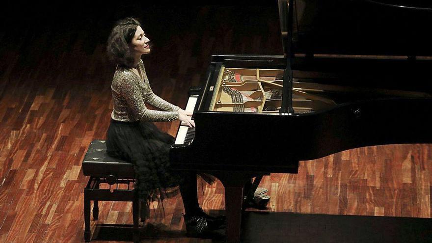 """La avilesina Noelia Rodiles, nominada a los """"Grammy"""" en clásica contemporánea"""