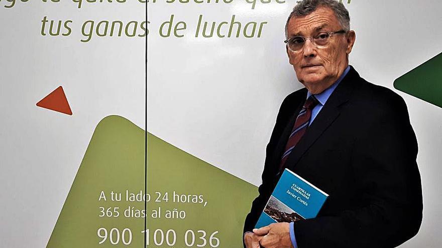 El presidente de la Asociación Contra el Cáncer presenta su nuevo libro 'Cuartillas confinadas'