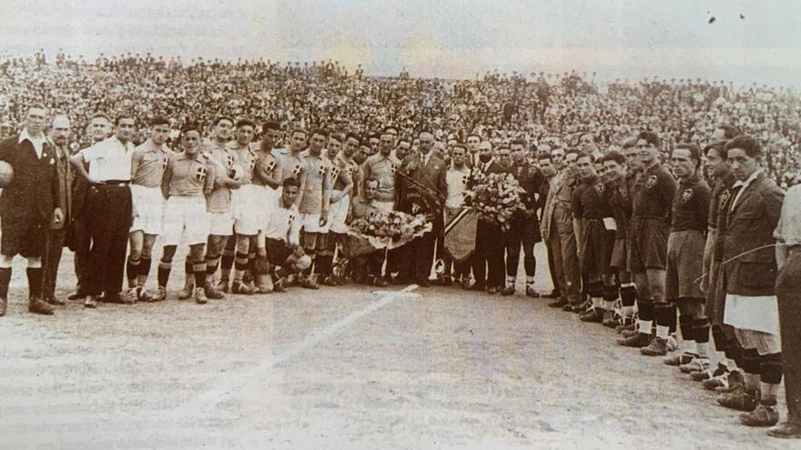 1925: Mestalla  se consagra al mundo