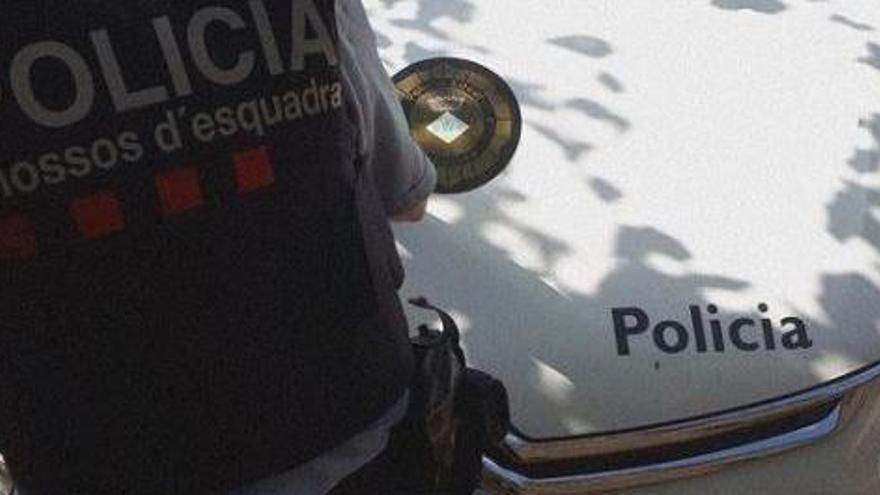 Un «macrobotellón» a Arbúcies acaba amb 25 persones denunciades, una de detinguda i 18 cotxes identificats