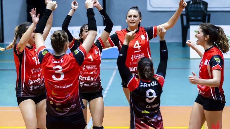 El Xàtiva Voleibol seguirá en la liga de plata española