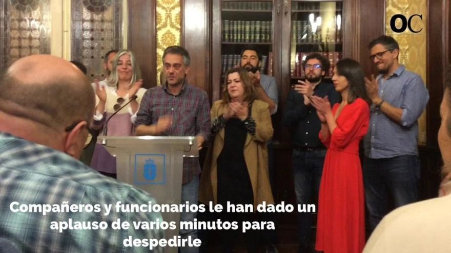 Xulio Ferreiro renuncia a estar en la próxima Corporación de A Coruña
