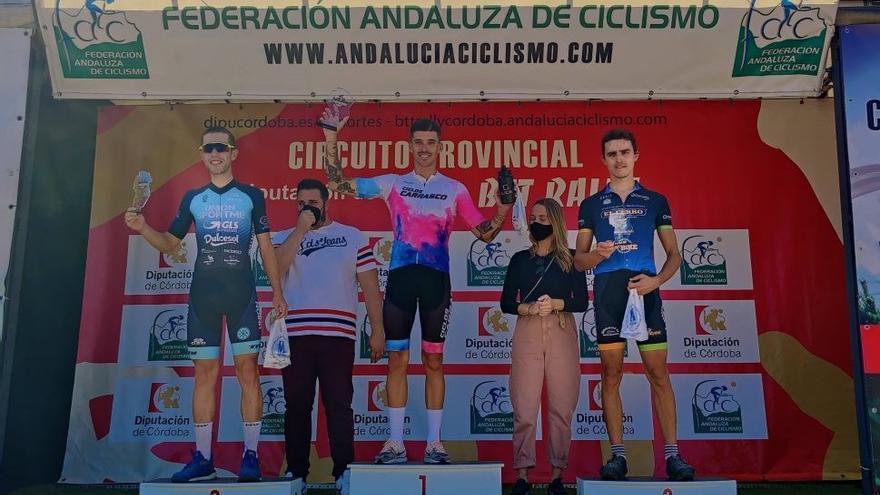 Alberto Carrasco y Belén Ortega, laureados en la MTB Castillo de Belmez de ciclismo