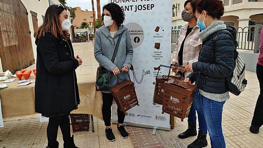 Sant Josep inicia la recogida domiciliaria  de residuos orgánicos