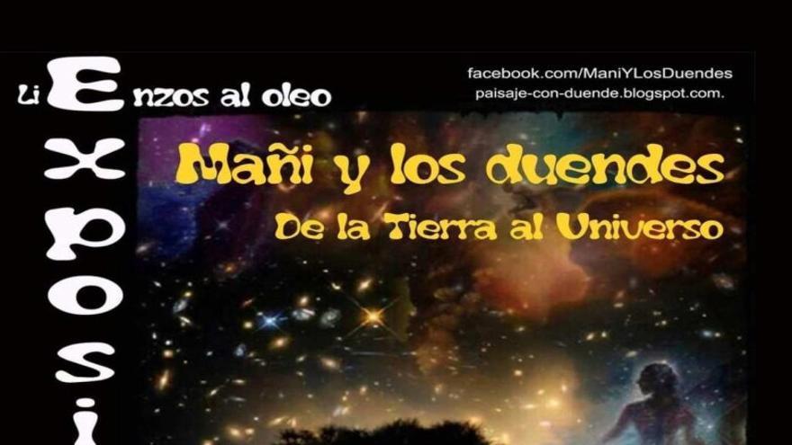 Exposición 'De la Tierra al Universo' - Mañi y los Duendes