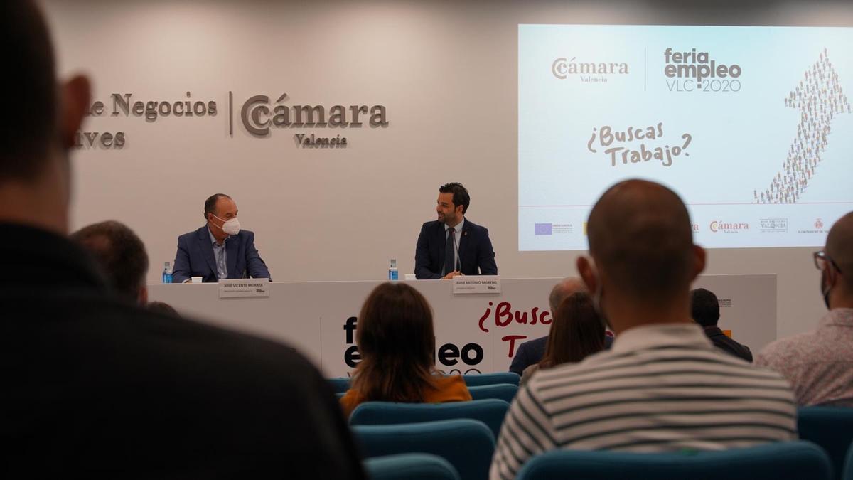 Inauguración de la Feria Empleo 2020 de Paterna