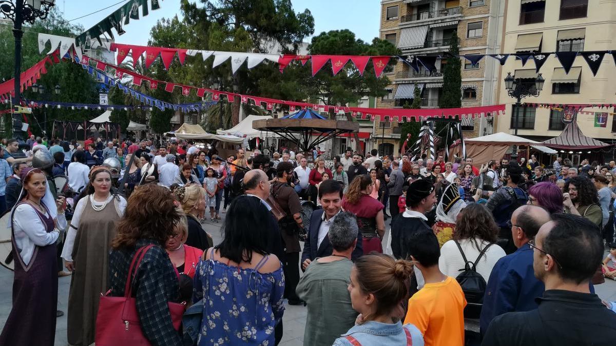 El Mercado Renacentista de Burjassot se aplaza hasta el mes de octubre