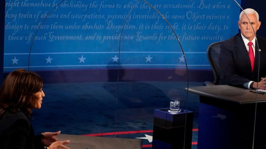 'Kamala y Pence, presidenciables'
