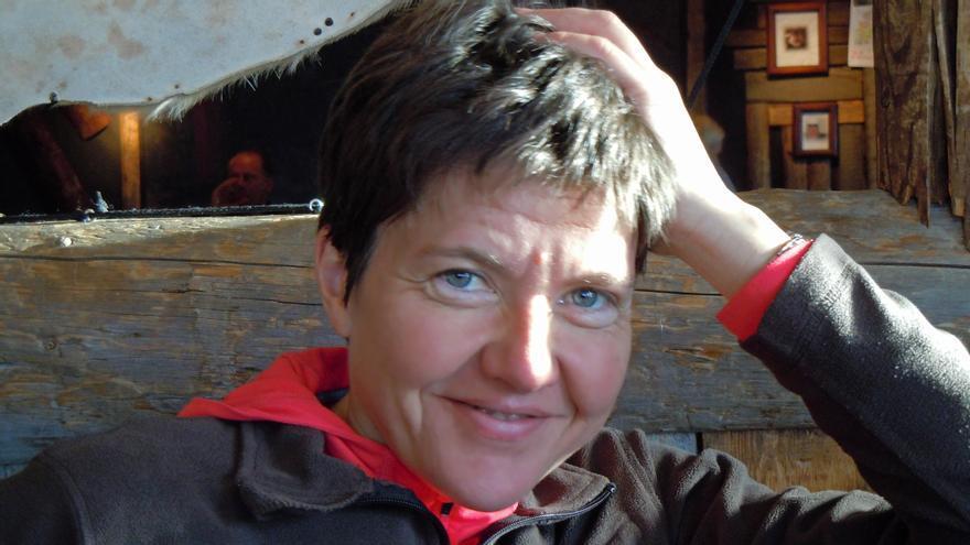 Carmen Domínguez, la asturiana que toma la temperatura a los glaciares