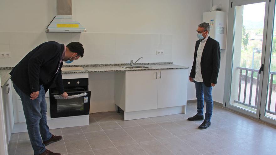 Sallent habilita tres pisos de lloguer social a l'edifici de Contramestres